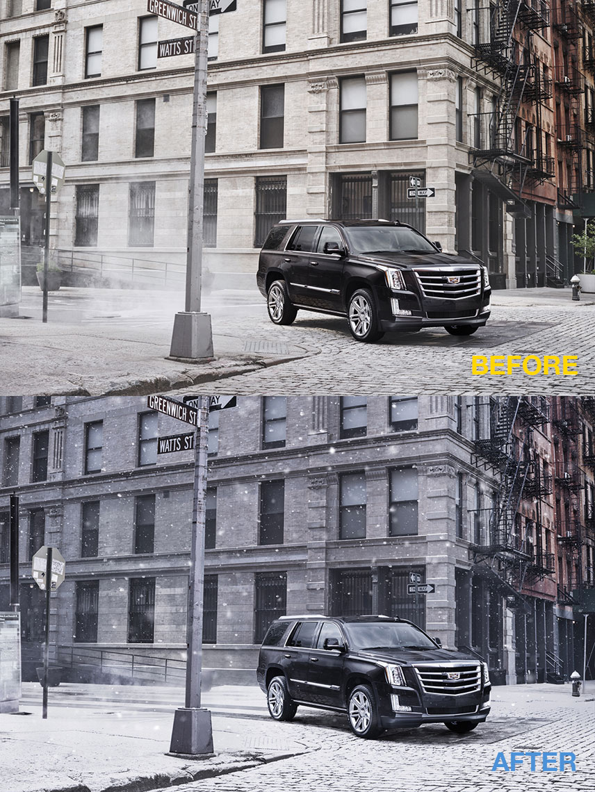 Escalade_Snow_BeforeAfter